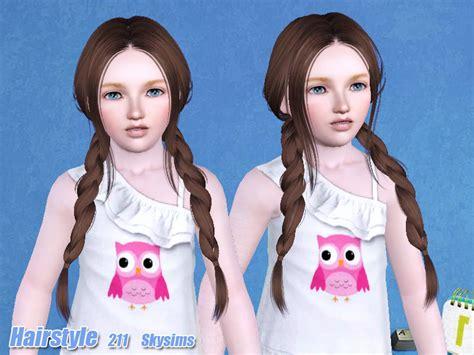 skysims hair child 204 sims 3 pinterest sims sims 4 skysim child hair skysims hair child 211 j