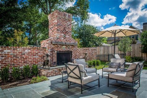 small outdoor brick fireplace 24 outdoor fireplace designs ideas design trends