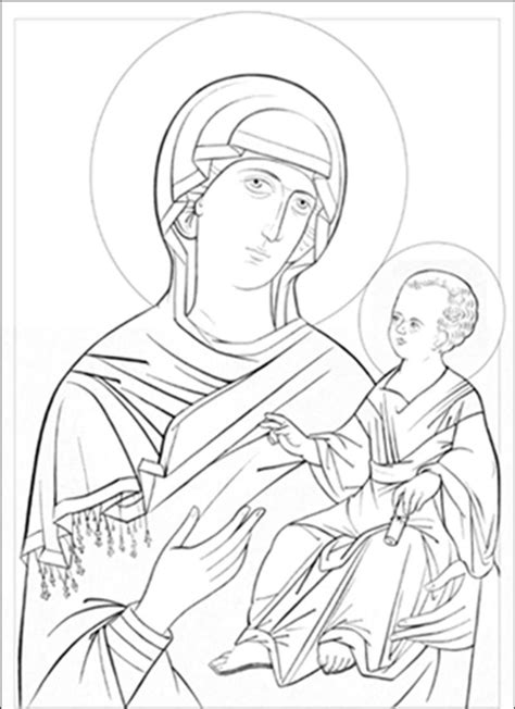 christian icon coloring pages 15 byzantine icons religious coloring pages images