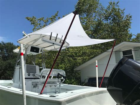 diy fishing boat canopy diy boat t top diy projects
