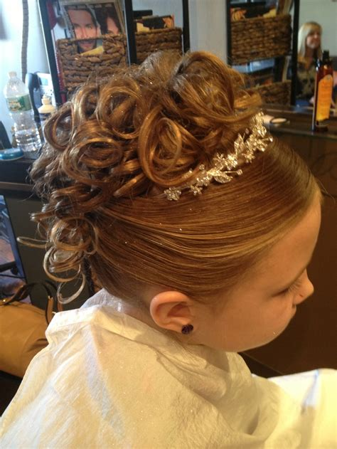 72 best images about peinados on pinterest communion first communion pinterest peinados para