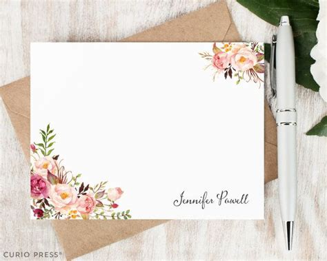 Customized Gift Card - 25 best ideas about personalized stationery on pinterest custom stationary