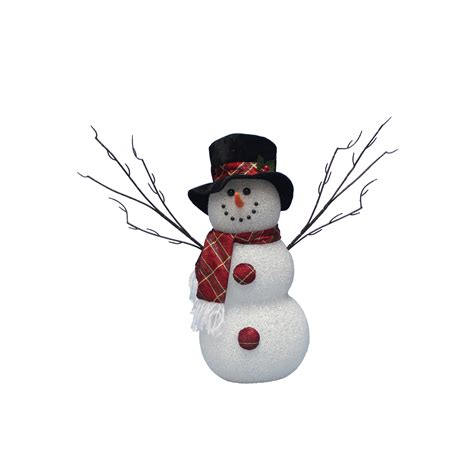 trim a home lights trim a home 174 14in light up snowman with top
