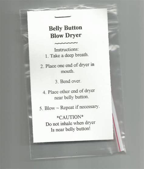 Hair Dryer Jokes new belly button dryer novelty gift prank joke