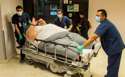 fattest person in the world world s heaviest man goes under knife in mexico