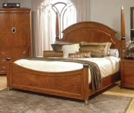 Wooden bed designs with unique headboards home interior design
