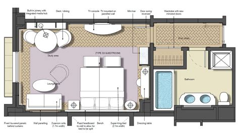 best hotel room layout design hotel suite room layout at best junior floor plan 1680 945