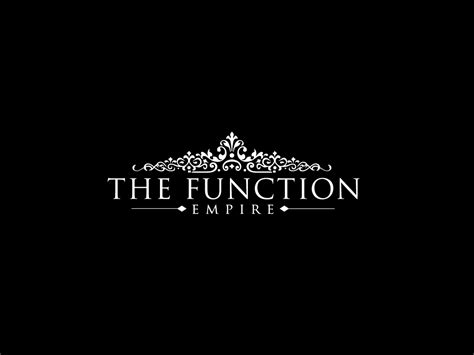 design event company serious modern logo design for the function empire by