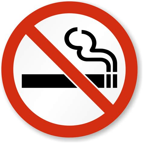 no smoking sign picture no smoking signs no smoking stickers