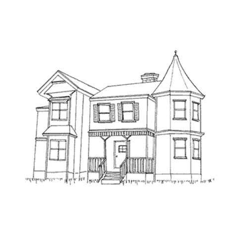 step 7 how to draw a haunted house scary halloween sketch house spooky hauntedhouse s bola