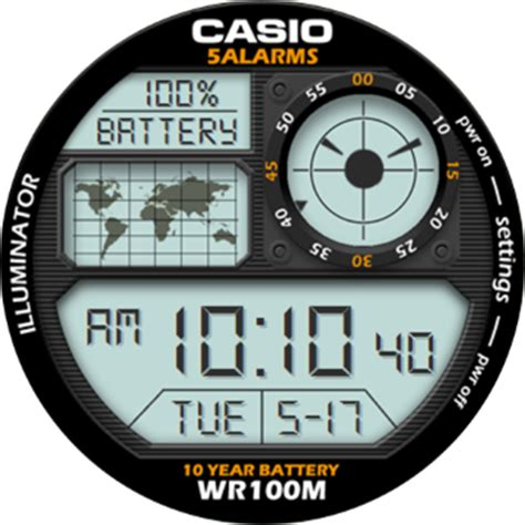 Casio Ae 1000 W 1b casio 5 alarms mens sports ae 1000w 1bvdf faces for smart watches