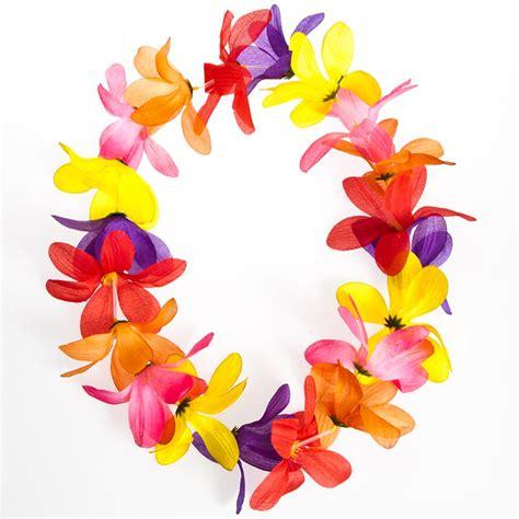 Nautical Birthday Theme - large petal flower lei