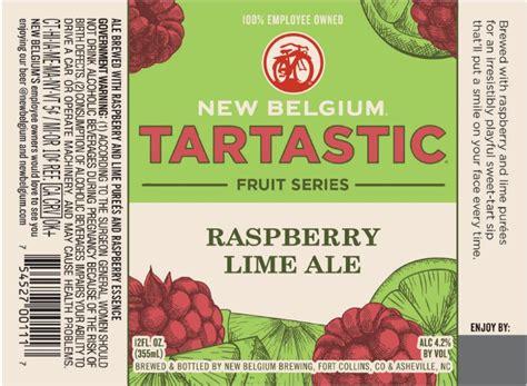 new belgium tartastic raspberry lime ale expands tart series journal new belgium tartastic raspberry lime ale looks to expand tart series journal