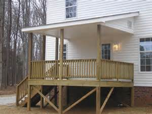porches and decks porches and decks covered rear deck jpg