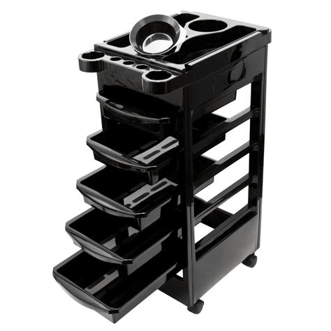 Trolly Salon salon spa trolley storage cart coloring salon rollabout hair dryer holder ebay