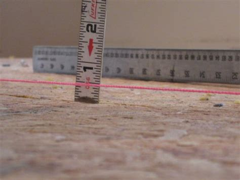 uneven floors in house how to level a plywood or osb subfloor using asphalt