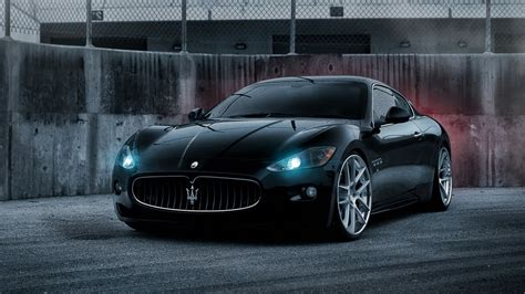 Black On Black Maserati by Black Maserati Granturismo Wallpaper