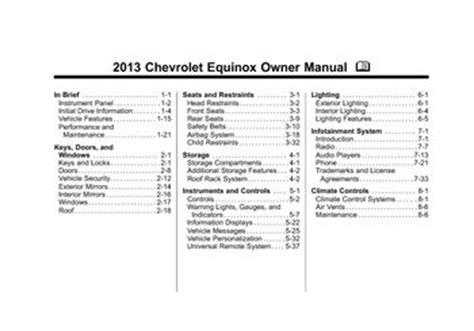service manuals schematics 2011 chevrolet equinox head up display 2013 chevy equinox owners manual