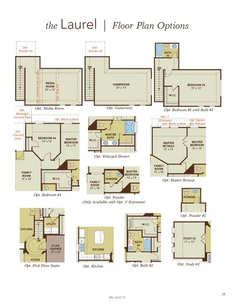 laurel floor plan floor plan friday laurel by gehan homes the marr team your real estate experts