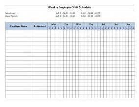 free employee weekly schedule template employee work schedule template weekly driverlayer