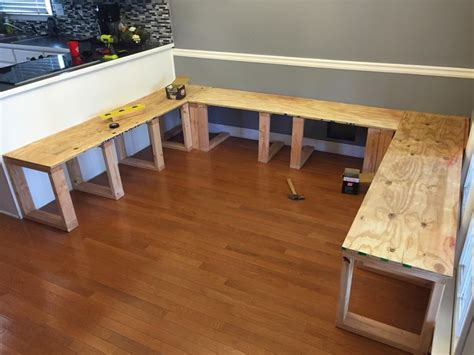 how to build a bench seat for kitchen table how to a bench seat for kitchen table besto