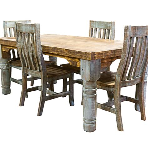 Rustic Kitchen Tables And Chairs Home Design 89 Astonishing Rustic Dining Table And Chairss