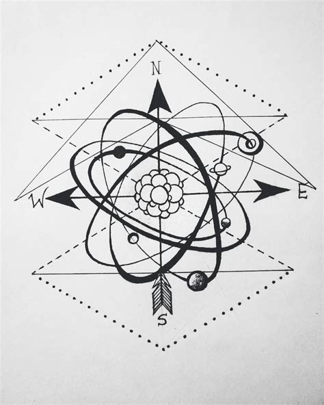 atomo dibujo tatoo 17 best ideas about atom tattoo on pinterest side of