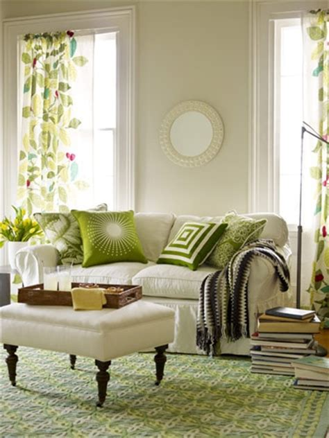 green and white living room green rugs bring in nature s fresh energy 5 chic interiors