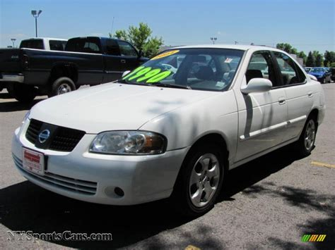 2004 nissan sentra 1 8 s 2004 nissan sentra 1 8 s in cloud white 871665