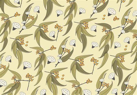 pattern maker gumtree eucalyptus pattern vector download free vector art