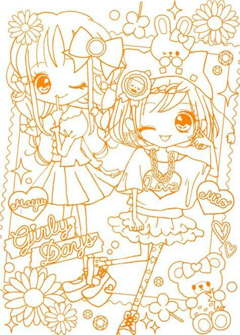 imagenes para dibujar kawaii anime dibujos para colorear kawaii imagui