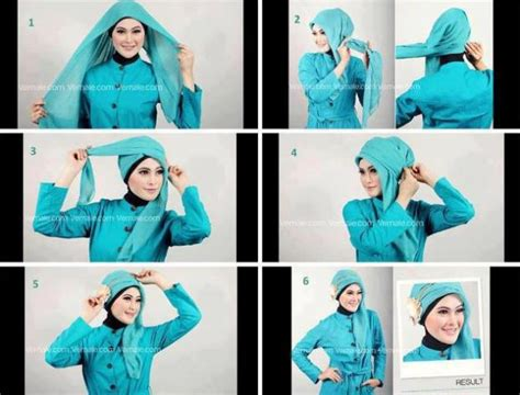tutorial hijab paris turban terbaru tutorial hijab paris segi empat shintarizky