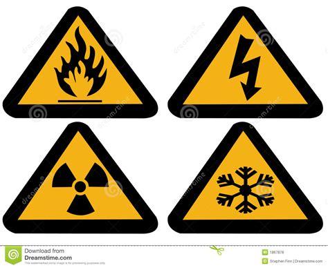 imagenes de simbolos radiactivos s 237 mbolos industriales del peligro fotos de archivo libres