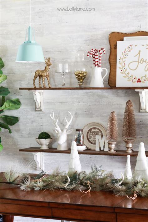 how to decorate shelves for