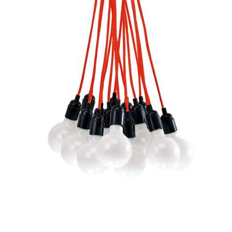 bundle of lights bundle light pendant l black leitmotiv touch of