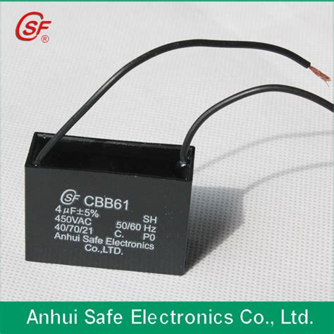 Capasitor Bank 2 0 F capacitor bank capacitor cbb61 for electric fan use