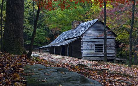 Smoky Mountains Log Cabins by Tennessee Mountains Cabins Wallpaper