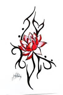 Lotus Tribal Tribal Lotus Design Tattoobite