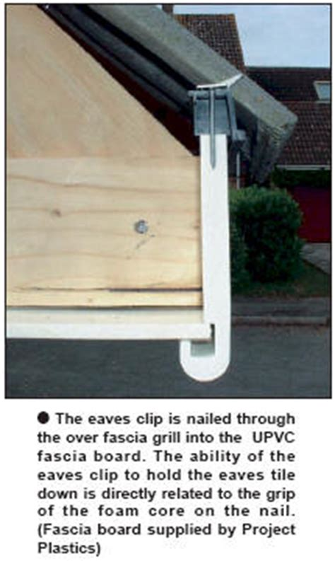 eave grip clips upvc fascia boards