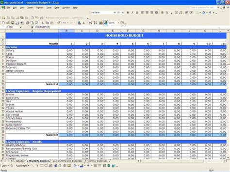 Expense And Income Spreadsheet by Business Income And Expense Spreadsheet Haisume