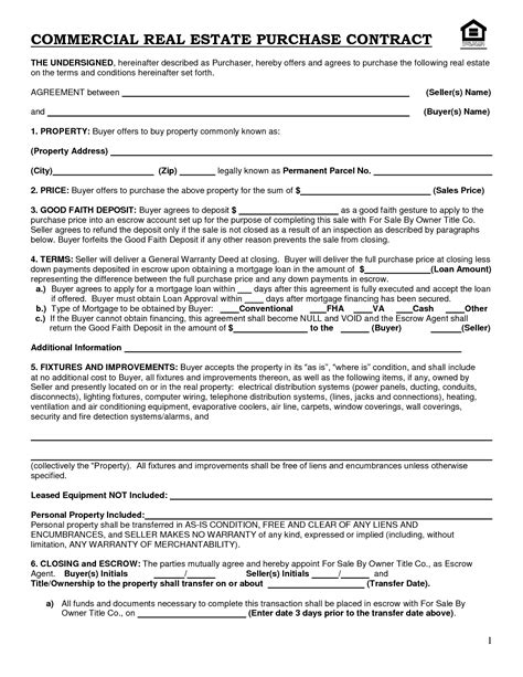 commercial lease contract template commercial real estate lease template