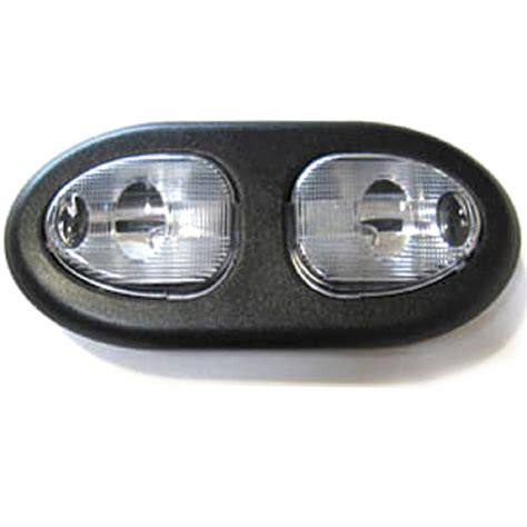 Interior Dome Lights For Cars by Chevy Parts 187 Interior Light Oval Dome Universal With Black Bezel Clear
