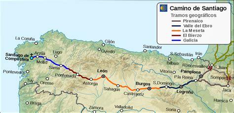 camino de santiago frances camino de santiago la enciclopedia libre