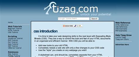 javascript tutorial tizag beginner resources where to learn css online wdexplorer