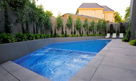 modern pool design modern lap pool designs landscaping modern lap pool