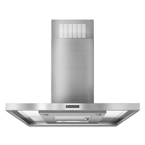 kitchen island vent hoods kitchenaid kxi2536yss 36 quot 400 series island mount
