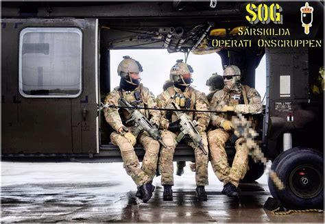 fuerzas especiales en fuerzas especiales sog suecia 187 militares en