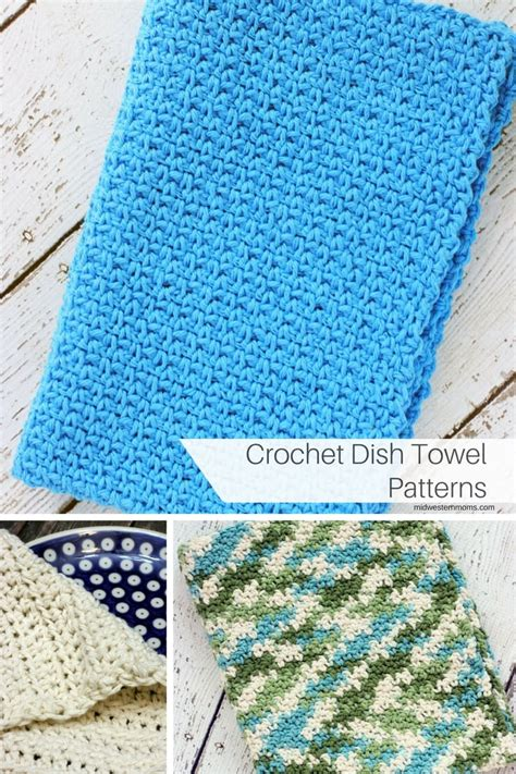 pattern crochet dish towel crochet dish towel patterns
