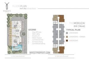 floor plan adalah yukata suites apartment jepang terbaru di alam sutera investasi properti terbaru 2018