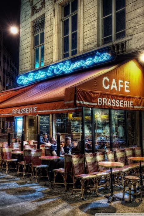 cafe paris france  hd desktop wallpaper  tablet